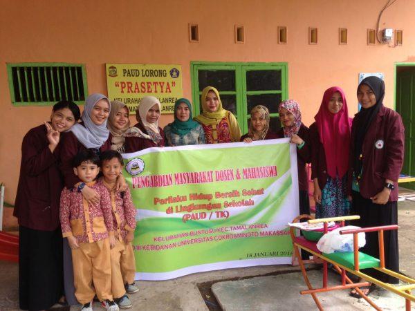 Perilaku Hidup Bersih dan Sehat di Lingkungan Sekolah (PAUD/TK)